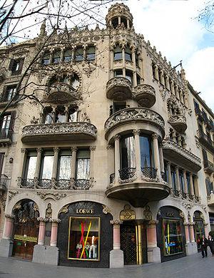 Casa Lleo Morera Barcellona
