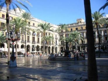 Placa Reial Barcellona