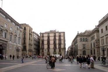Placa de Sant Jaume Barcellona